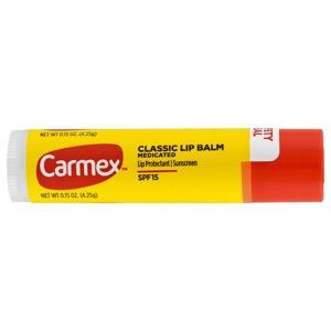 Carmex, クラシック リップバーム、薬用 SPF 15