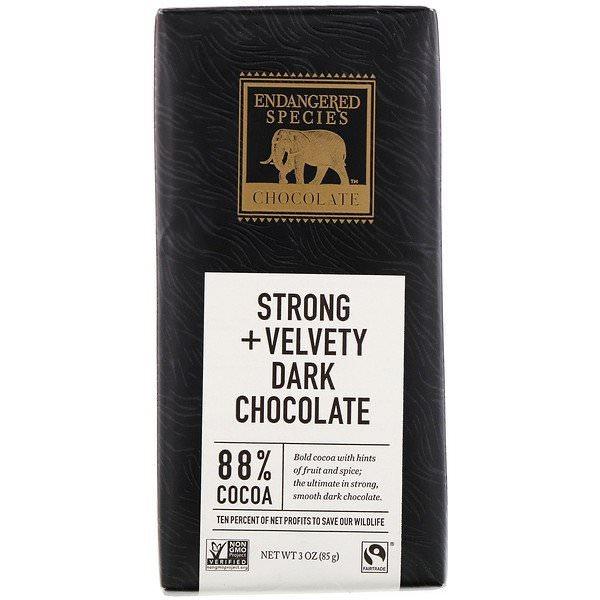 Endangered Species Chocolate, 88%カカオダークチョコレート