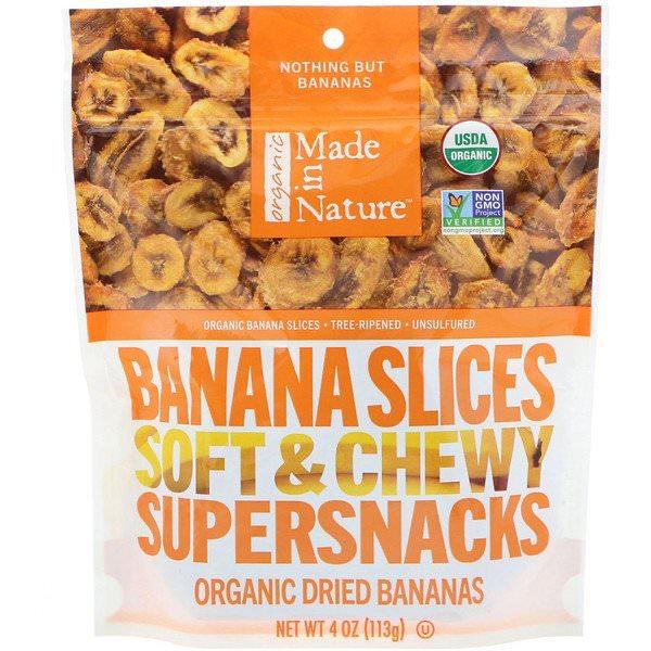 Made in Nature, オーガニックバナナスライス