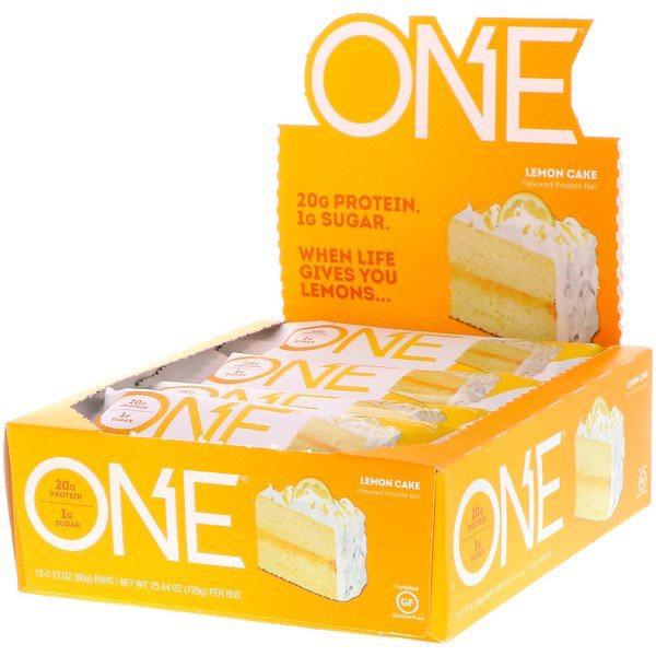 One Brands, ワンバー、レモンケーキ