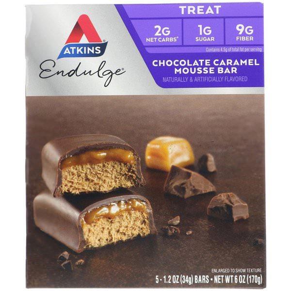 Atkins, チョコレートキャラメルムースバー