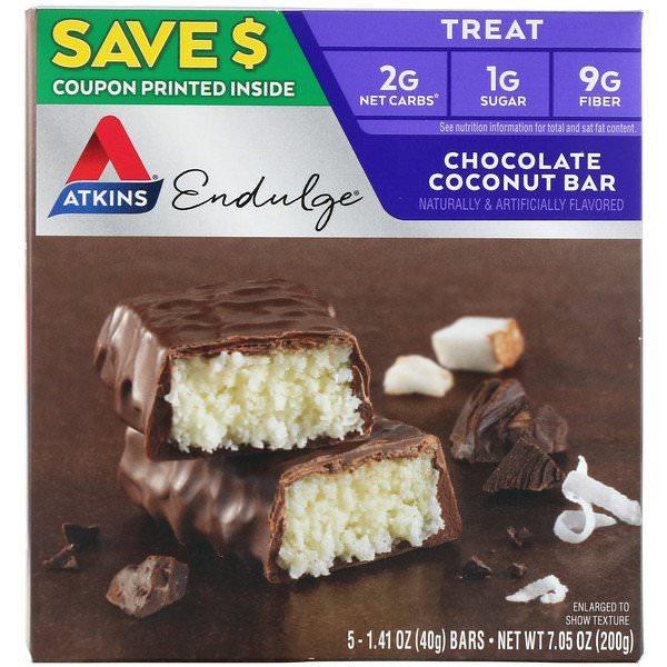 Atkins, チョコレートココナッツバー