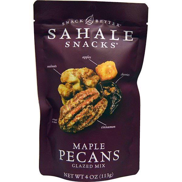 Sahale Snacks, スナックベターメープルペカンミックスナッツ