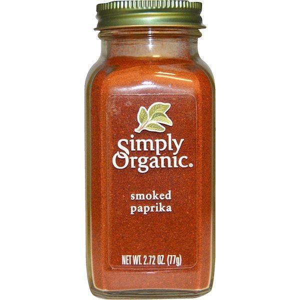 Simply Organic, スモークパプリカ