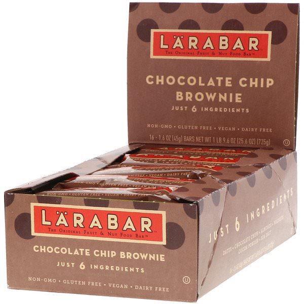 Larabar, チョコレートチップブラウニー