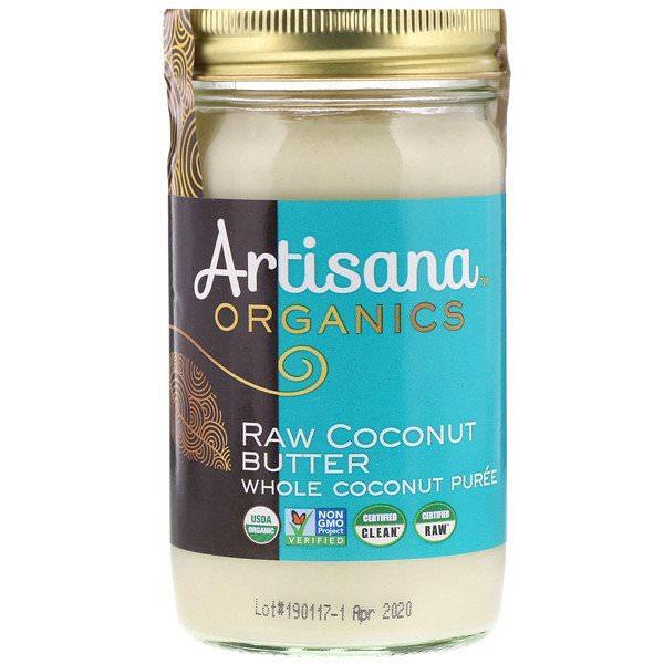 Artisana, オーガニック、生ココナッツバター