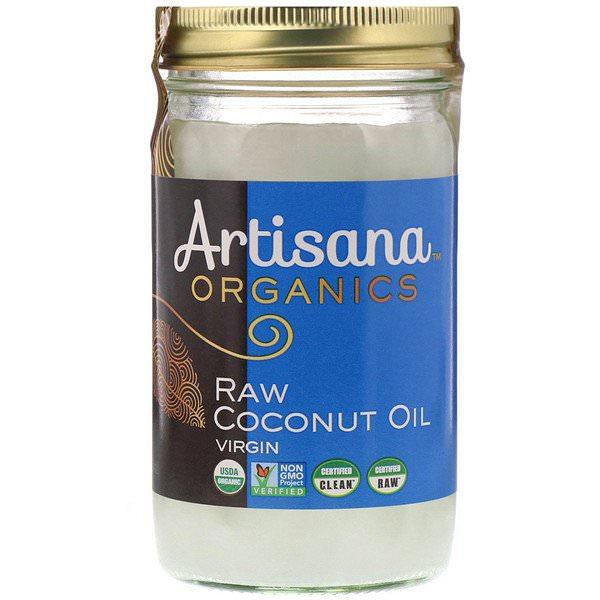 Artisana, オーガニックス、生バージンココナッツオイル