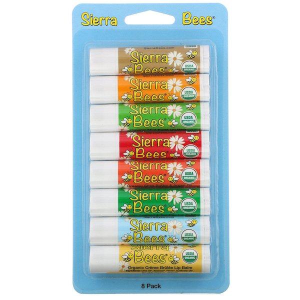 リップクリーム「Sierra Bees オーガニックリップバーム」
