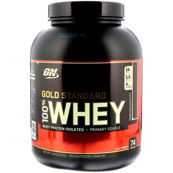 Optimum Nutrition, ゴールドスタンダード、ホエイプロテイン