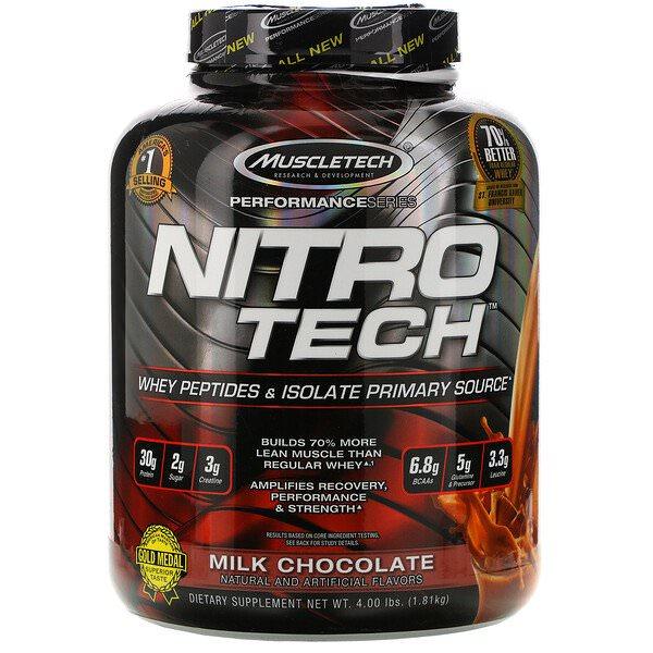 Muscletech, Nitro-Tech(ニトロテック)、ホエイプロテイン
