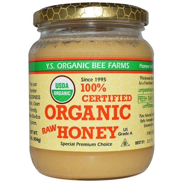 Y.S. Eco Bee Farms, 100%認定オーガニックローハニー