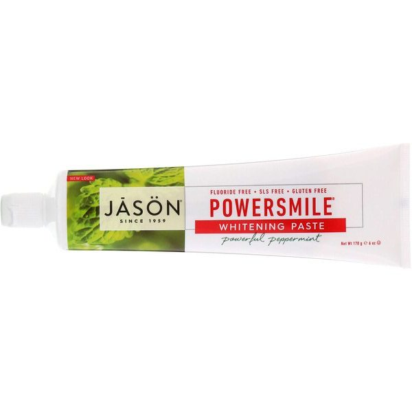 Jason Natural, PowerSmile(パワースマイル)ホワイトニングペースト