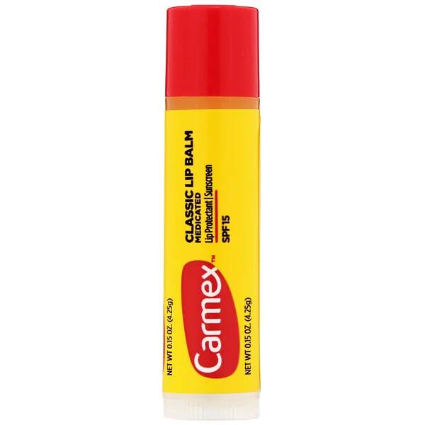 Carmex, クラシックリップクリーム、薬用、SPF15