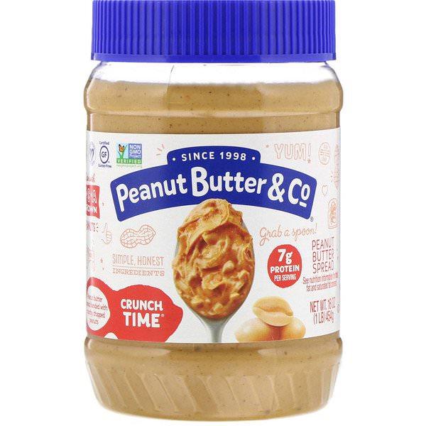 Peanut Butter & Co., クランチ タイム、ピーナッツバター スプレッド