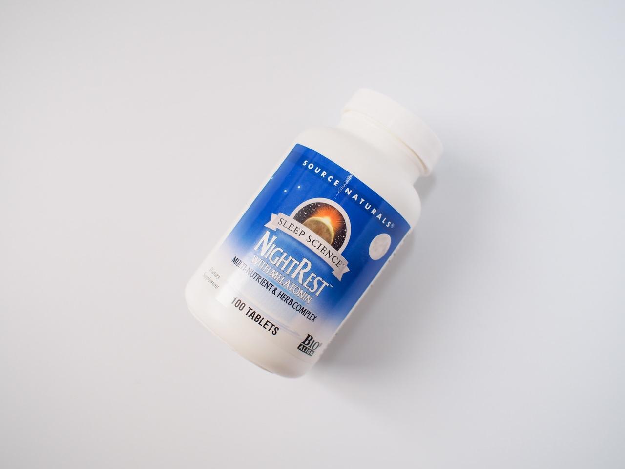 ナイトレストはメラトニンを含む睡眠サプリ