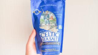 ケルティックシーソルトはミネラルたっぷりの美味しいケルト海塩