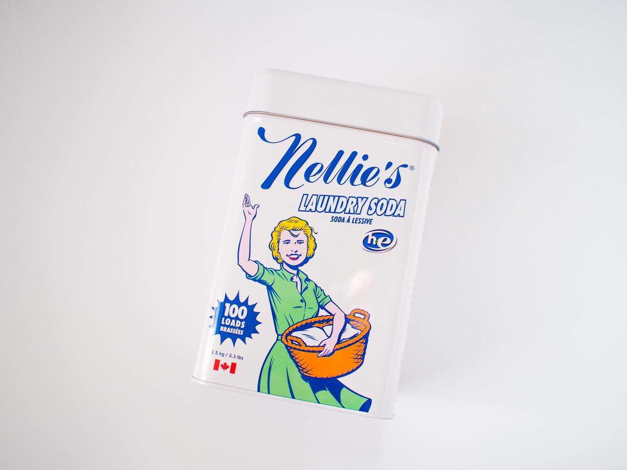 ネリーズランドリーソーダ洗濯洗剤は天然成分で肌に優しい【そして可愛い】