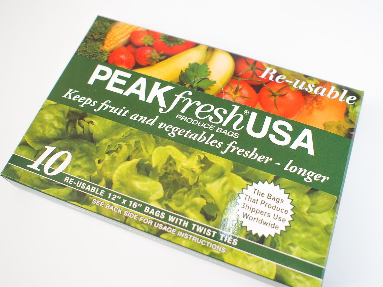 PEAKfresh USAで野菜や果物が長持ちする理由