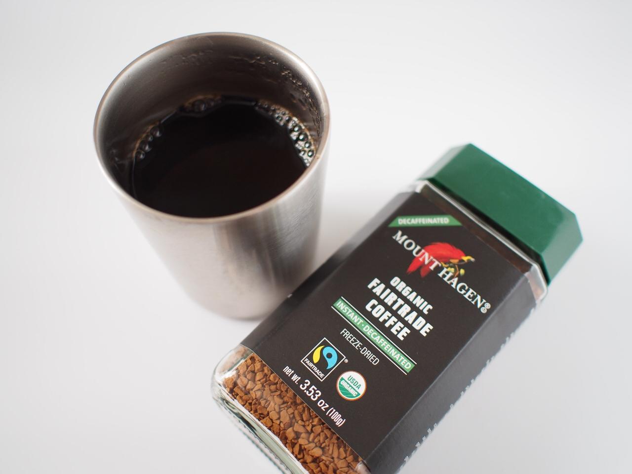 手軽で簡単なインスタントコーヒー