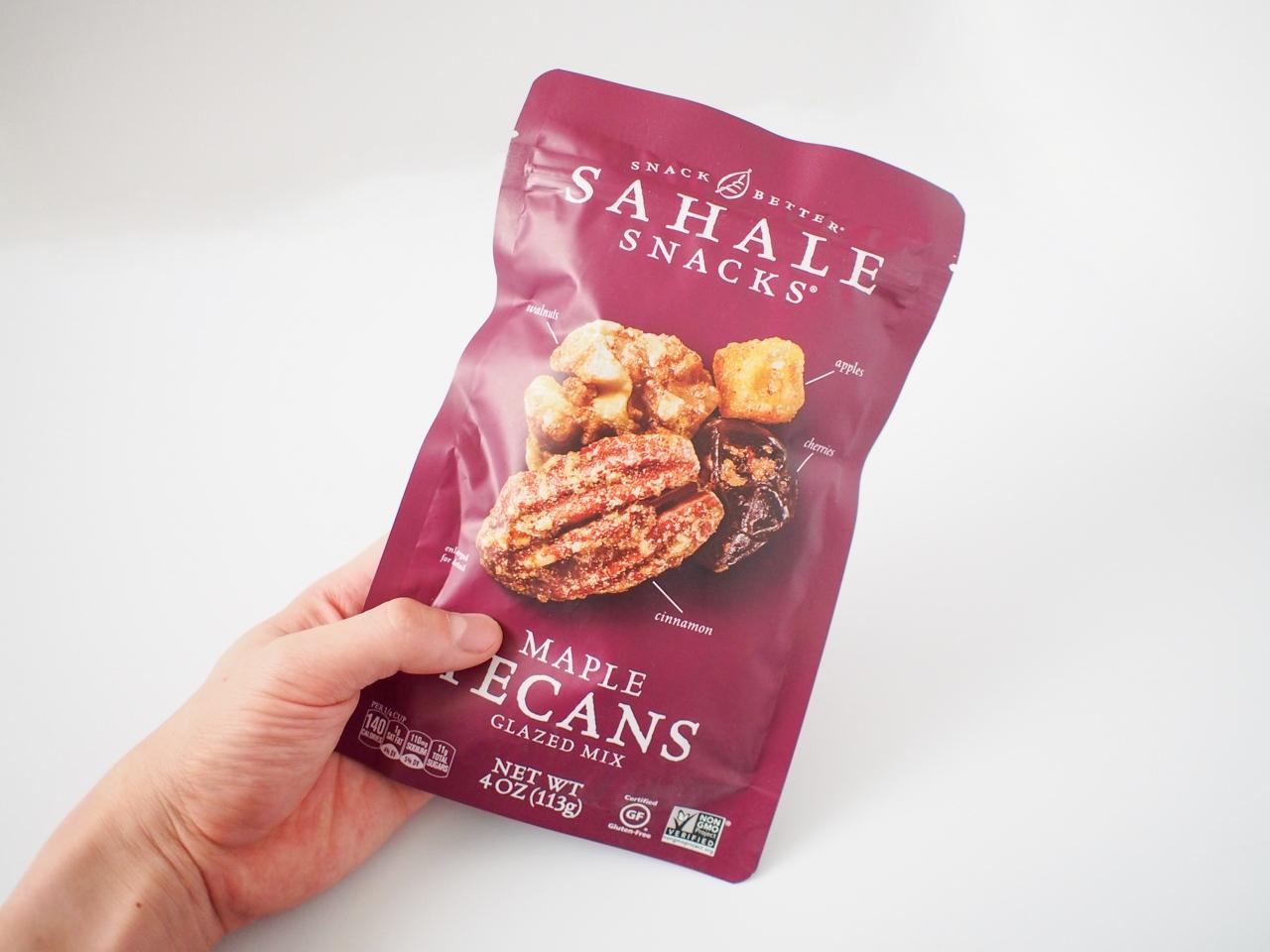 Sahale Snacks(サハレスナック)のメープルぺカンが美味しすぎ