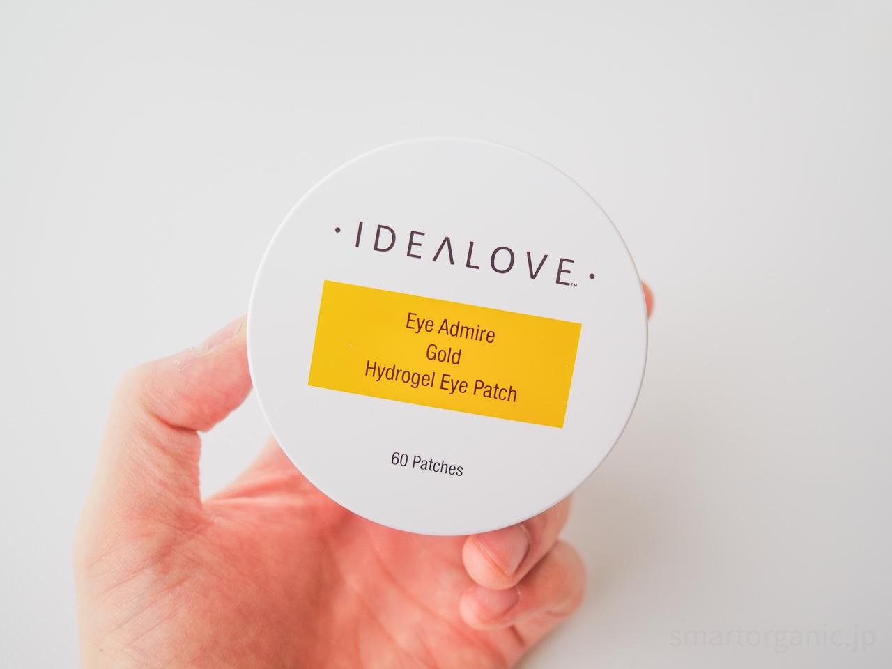 アイデアラブ(Idealove)のゴールド ハイドロゲルアイパッチ