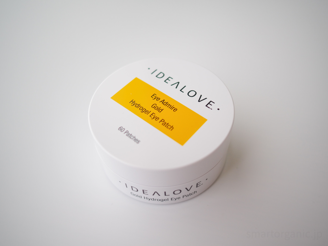 Idealove アイアドマイヤー ゴールド ハイドロゲルアイパッチ 60枚
