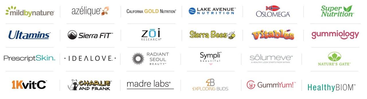 iHerb(アイハーブ)プライベートブランドは24種類