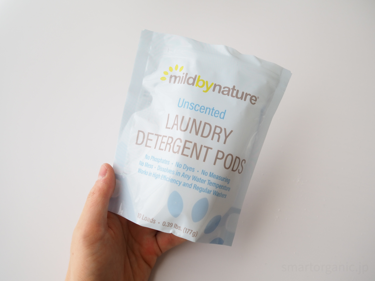 Mild By Natureの洗濯用洗剤ジェルボール