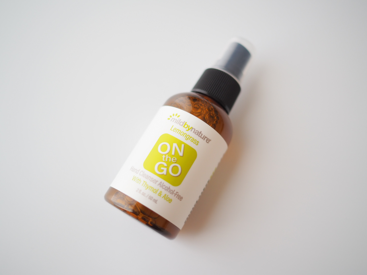 Mild By Nature ON THE GO ハンドクレンザー