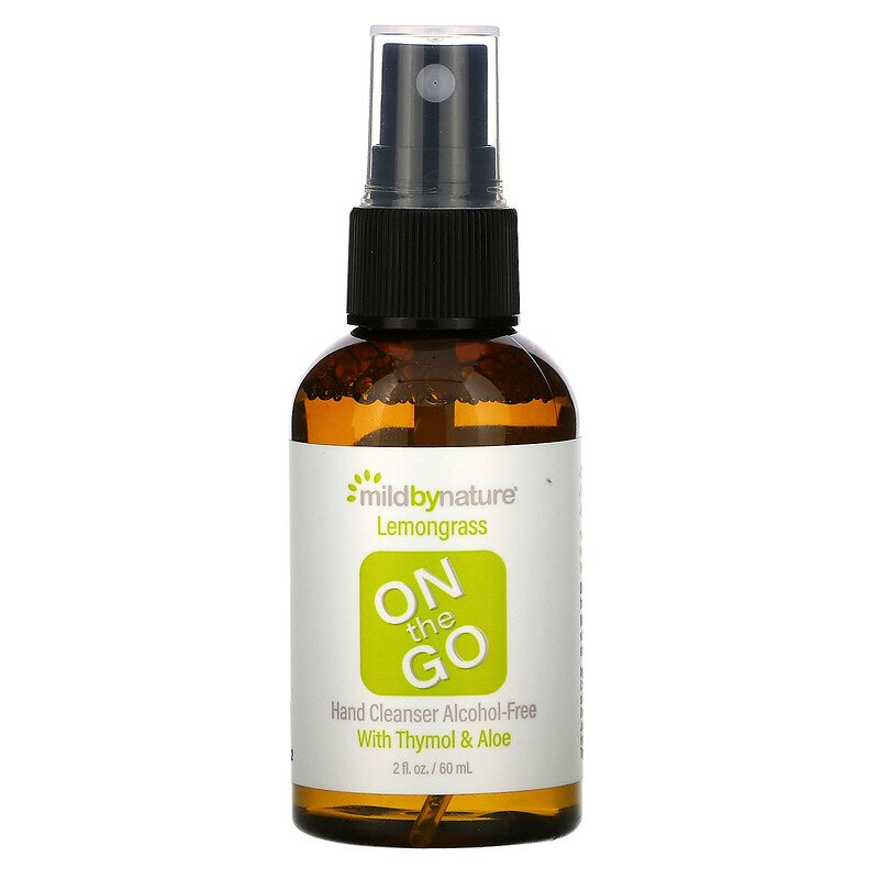 Mild By Nature「ON THE GO」ハンドクレンザー
