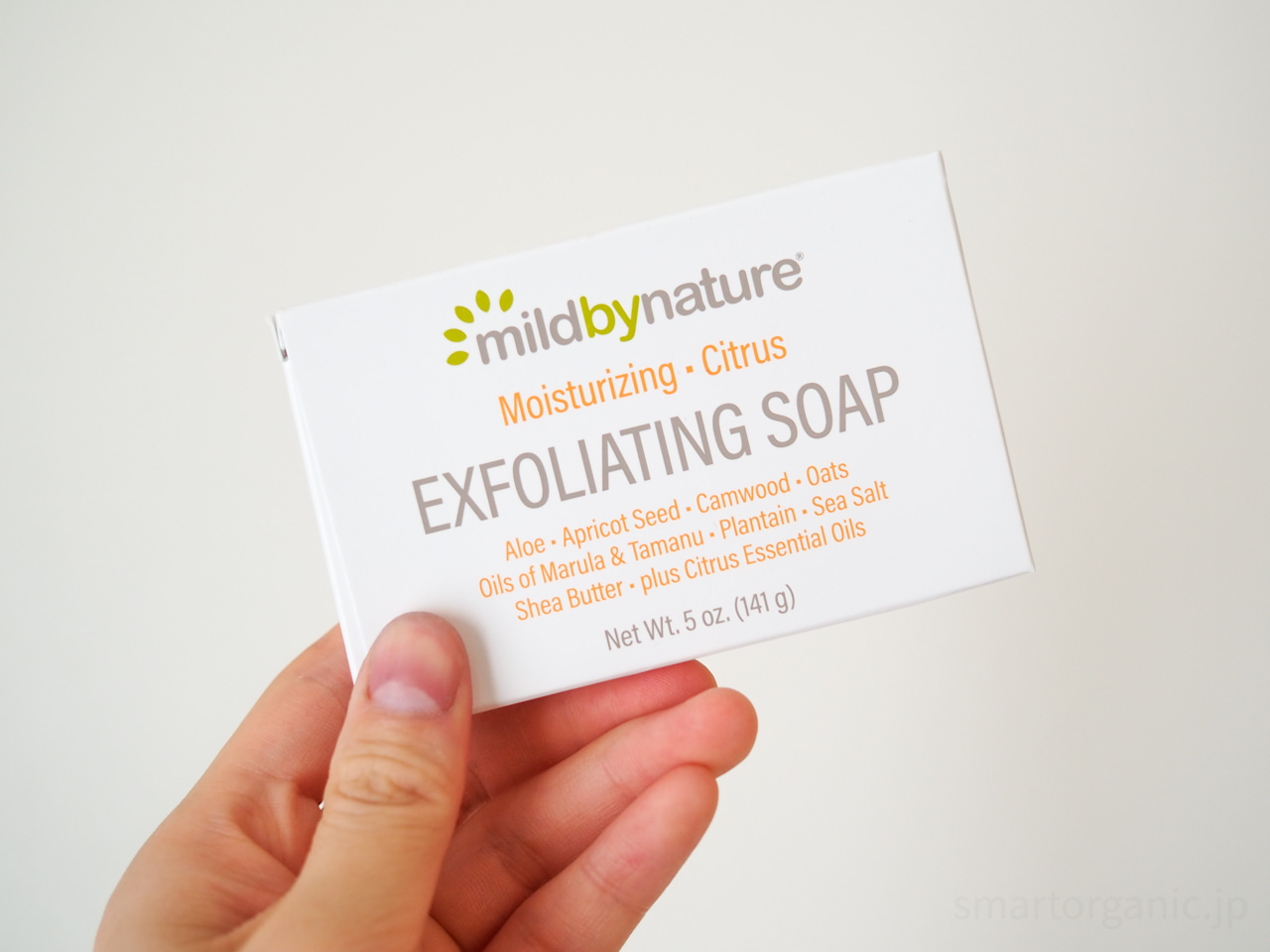 Mild By Natureピーリング石鹸|敏感肌でも優しく角質除去